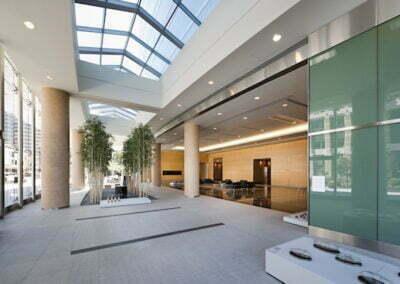 555 12th Street Lobby Interior
